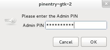 GPG-Admin-PIN