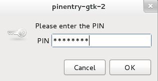 GPG-PIN